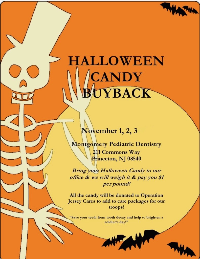 Supporting Operation Jersey Cares with Candy Buy Back for Care Packages for Military